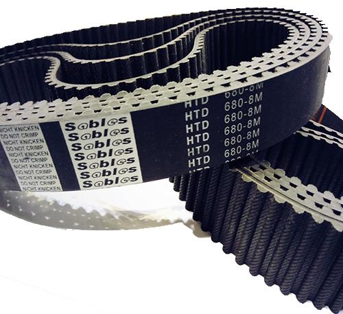HTD8M橡胶同步带