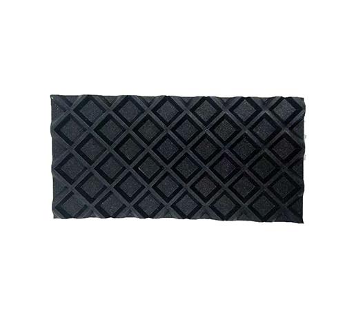 PVC黑色菱形格输送带