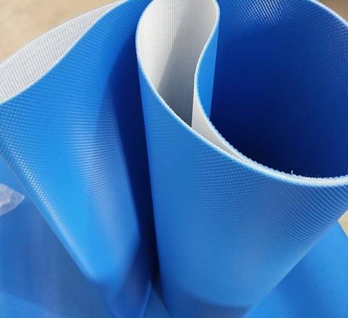 PVC蓝色钻石纹输送带