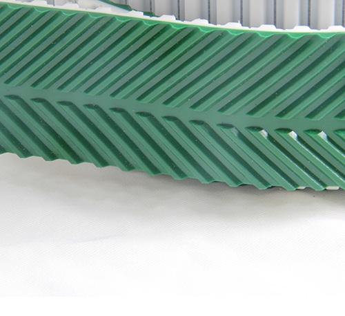 P22-16/27A  PVC绿色人字形输送带