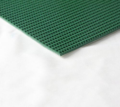P22-16/3D PVC绿色草花纹输送带