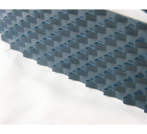P22-26/6 PVC白色锯齿输送带